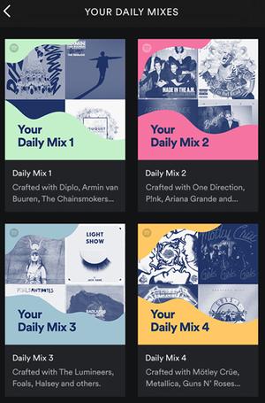 spotify-daily-mix