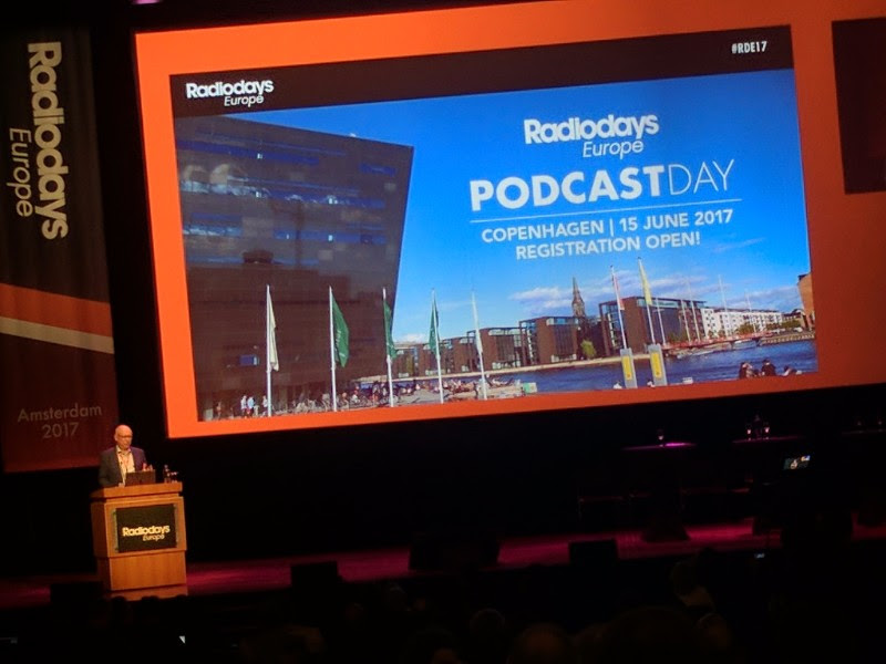 Radiodays announced the first of a set of themed days - this one on podcasting. It's interesting noting that radio conference organisers are also beginning to explore podcasting as an additional subject.