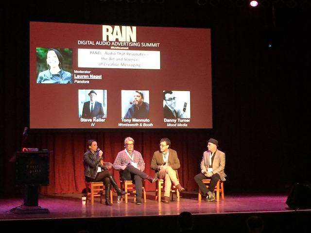 RAIN Summit Chicago 2017 ad messaging