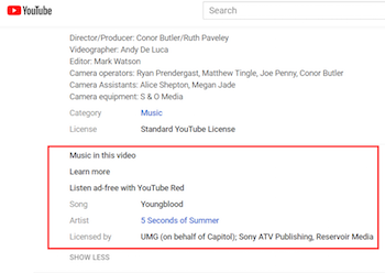 Youtube Adds More Detailed Music Credits To Official Videos And Fan Uploads Rain News