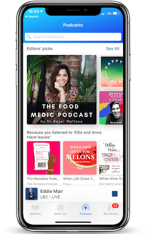 Global brings podcast support to its entertainment app
