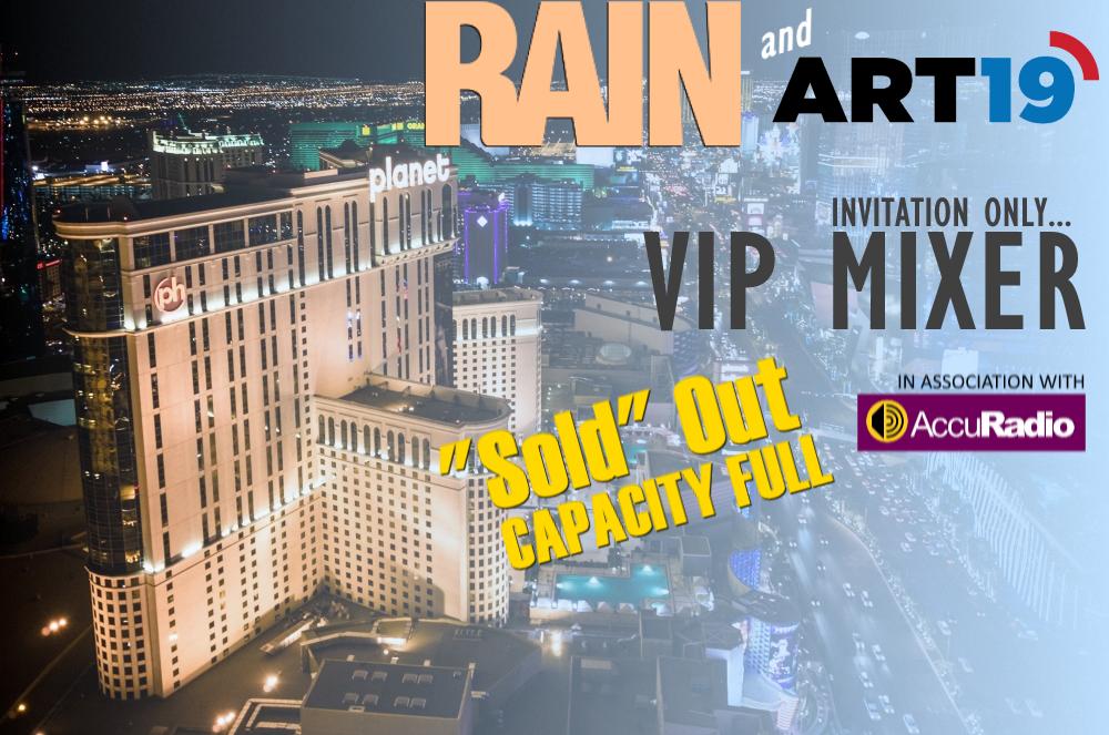 LAS VEGAS RAIN ART19 VIP MIXER 2019 – RAIN News
